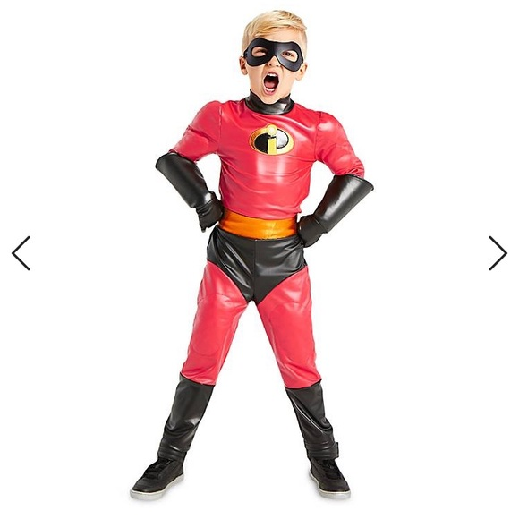 Incredible2 Dash Costumes for Kids Sz 9/10